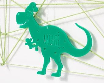 Personalised Christmas Dinosaur Bauble