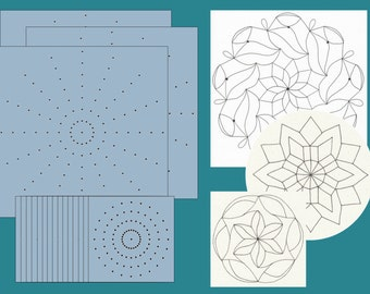 Genevieve's Mandala Stencils - Class Pack