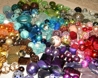 NEW MIXED lot of Jess James beads ((250)) assorted RANDOM picked beads lot