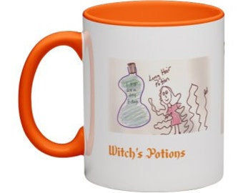 Halloween Witch's Potions Coffee Mug