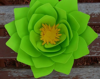 Paper Lotus Flower Made In Any Color, table decoration,wedding,anniversary,birthday