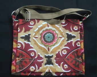Touch of Turquoise Messenger Bag