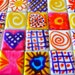 Hand Painted tiles, Recycled, Mosaic Tiles, Crafts, Art, Mixed Media,Retro, Coloured Tiles,Australia