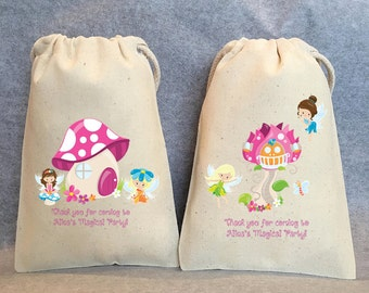 "10- Fairy, Fairies, Fairy Party, Fairy Party Favor, Fairy Birthday, Fairy party favor bags, 4""x6"""