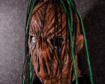 Pumpkin Dreadnaut- Custom made latex mask altered with our Bloodlust designs