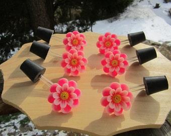 "Hummingbird feeder tubes ""Pi6"" set of 6"