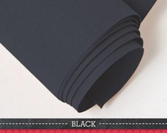 """Kraft-Tex 19"""" x 54"""" Roll Kraft Paper Fabric (Black)"""