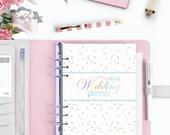 WEDDING PLANNER - Ultimate Printable Wedding Organizer - Instant Download - Budget, Checklist, Honeymoon + more