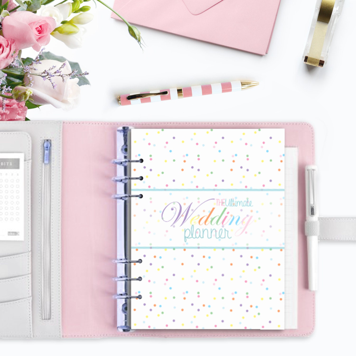 WEDDING PLANNER Ultimate Printable Wedding Organizer