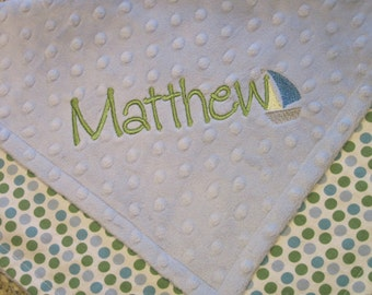 Personalized Lovey Blanket