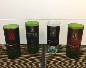 Wine Bottle Candle Apothic Handmade Recycled Gift Choose Scent