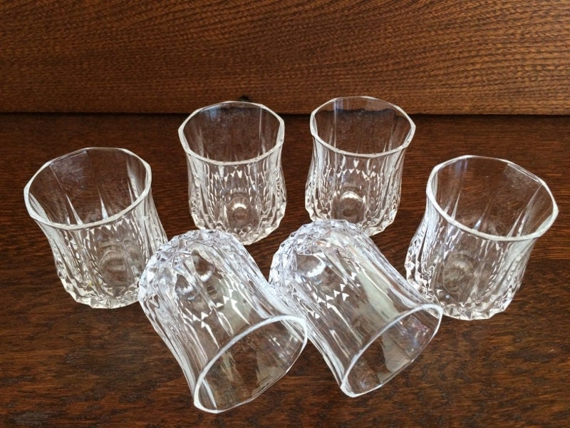 Cristal Double Old Fashioned Shot Glasses Set Of