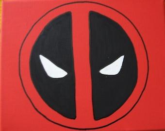"Marvel Deadpool Canvas Art Picture 10""x8"""