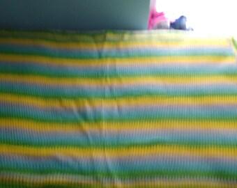 Baby blanket, crib blanket, stroller blanket, afghan lot 127