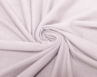 Lavender Stretch Suede Fabric by the yard - 1 Yard Style 598