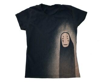 No Face from Spirited Away t-shirt (women's)