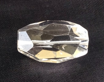 Faceted Natural crystal Pendant