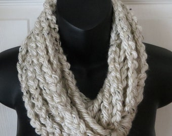 Aspen Tweed Infinity Scarf...Cowl...Neck Warmer...Accessory...Gift