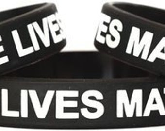 Blue Lives Matter Thin Blue Line bracelets