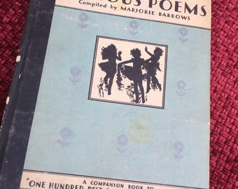 1930's Illustrated book of poems