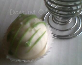 Lime Margarita Cake Balls