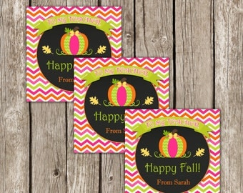 Fall Teacher Gift - Thanksgiving Gift Tags - Editable Printable - Instant Download
