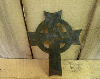 Rustic Celtic cross lot of 12   free shipping!!!