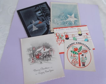 Vintage Craft Christmas Cards