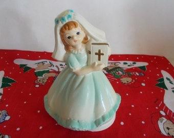 Vintage Ceramic Schmid  Religious Musical The Creative Hand