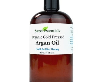 Organic 100% Pure Moroccan Argan Oil - 16oz -  Imported from Morocco