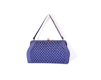 50s Blue Purse Navy  Blue Bag 1950s Purse / Purse / Vintage Purses / Women Bags Purses Handbags
