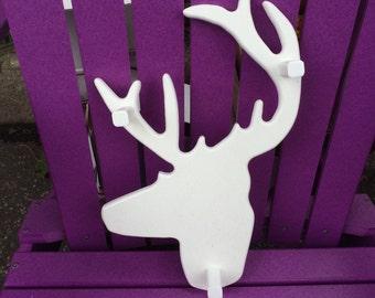 Deer Head 45w/shpn
