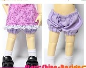 Sale 25% Off BJD YoSD 1/6 Doll clothing - Bloomers - 6 Colors