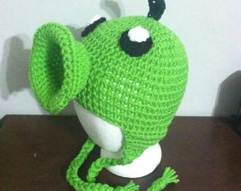 Pea Shooter Plants vs Zombies inspired hat