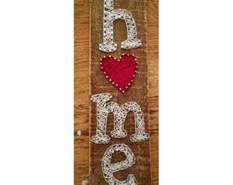 String Art, Home is where the heart is