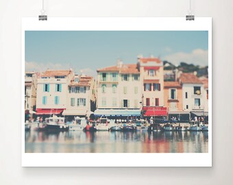 cassis photograph france photograph boat photograph reflection photograph cassis print french decor provence photograph