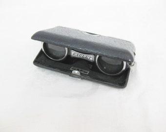 Folding Opera Glasses, Eaglet Japan 3.5x26, Mini Binoculars