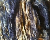 Hand Dyed Silk Hankies for Hand Spinning