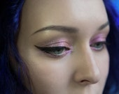 Eyeshadow: Winter Roses Spirit - Fairy. Dust Pink Shimmer Eyeshadow. Tammy Tanuka Sigil Inspired Loose Mineral Eyeshadow.