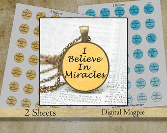 1 inch circles motivational bottle cap digital collage sheet pendant images printable inspirational sayings words circles jewelry download