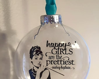 Audrey Hepburn Quote ornament