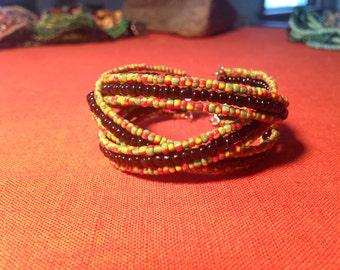 Rasta love bracelet