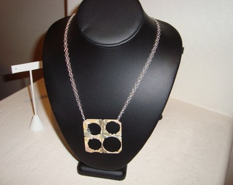 STERLING Silver ART DECO necklace