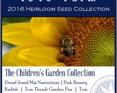 The Children's Garden Collection - Heirloom, non-GMO Seed Collection