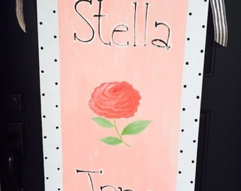 Personalized nursery banner