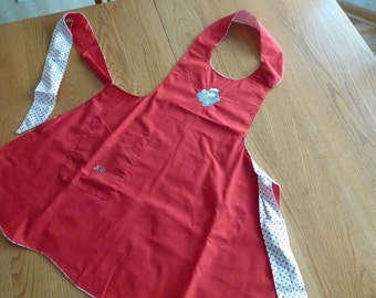 Christmas Reversible Apron -