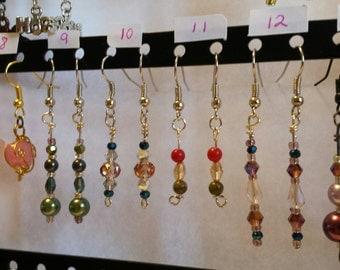Earrings ~ Various, pick 1