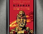"""Birdman - """"Birdbrained"""" 13x19"""