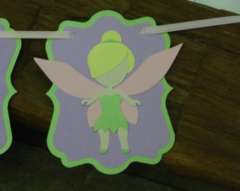 Fairy Banner - Fairy Birthday Banner - Fairy Decor - Fairy Party