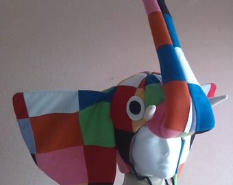 Elmer the elephant - costume for toddlers, kids and adults